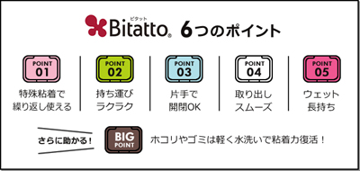bitatto6つのポイント画像